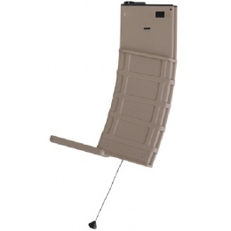 Lancer Tactical Airsoft M4 Multi-Mission 300rd Hi-Cap AEG Mag - TAN