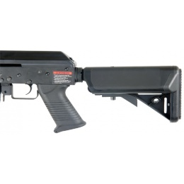 Lancer Tactical Airsoft AK Full Metal RIS Tactical AEG Rifle - BLACK