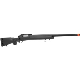 Lancer Tactical Airsoft M24 Bolt Action Sniper Rifle - BLACK