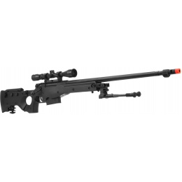 Lancer Tactical Airsoft L96 Full Metal Gas Powered Sniper Rifle