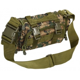AMA Airsoft Urban Assault Waist UtiliPack - DIGITAL WOODLAND