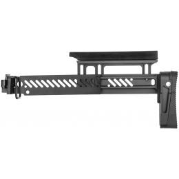 ASP Airsoft Tactical AK AEG Folding Rifle Stock - BLACK