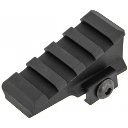 UK Arms Airsoft 45-Degree Offset Rail Mount Component - BLACK