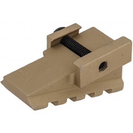 UK Arms Airsoft 45-Degree Offset Rail Mount Component - TAN