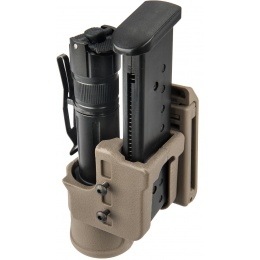 UK Arms Airsoft Speed Flashlight Holster Accessory - DARK EARTH
