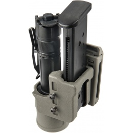 UK Arms Airsoft Speed Flashlight Holster Accessory - FOLIAGE GREEN