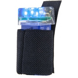 UK Arms 3-LED BLUE Flashing Marker Beacon w/ Hook and Loop System