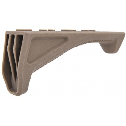 UK Arms Airsoft Angled Foregrip Accessory - DARK EARTH