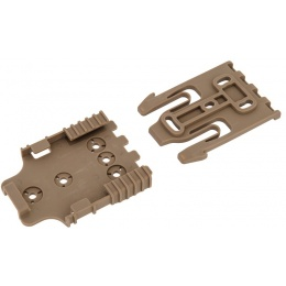UK Arms Airsoft Holster Quick Locking System Kit - TAN