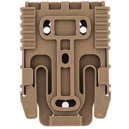 UK Arms Airsoft Holster Quick Locking System Kit - TAN