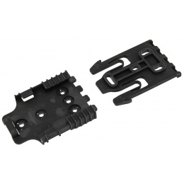 UK Arms Airsoft Holster Quick Locking System Kit - BLACK