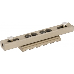 UK Arms 45-degree Low Pro Mount For MK416 Rail - DARK EARTH