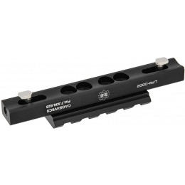 UK Arms 45-degree Low Pro Mount For MK416 Rail - BLACK