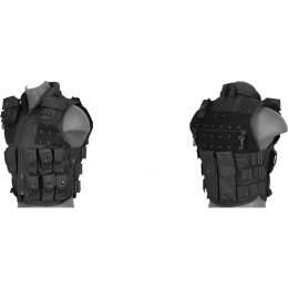 UK Arms SWAT/Police Law Enforcement Replica Tactical Vest w/ Patches