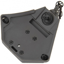 UK Arms L3 Series Helmet NVG Mount Component - FOLIAGE GREEN