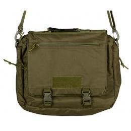 AMA Waterproof Nylon Operator's Shoulder Bag - OD GREEN