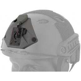UK Arms L3 Series Helmet NVG Mount Component - BLACK
