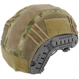 UK Arms Airsoft Maritime Tactical Mesh Helmet Cover - FOLIAGE GREEN