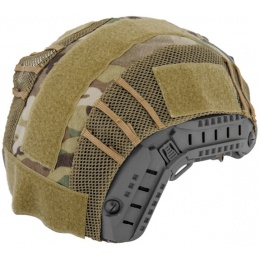 UK Arms Airsoft Maritime Tactical Mesh Helmet Cover - MODERN CAMO
