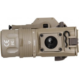 UK Arms M720V Quick Detach Weapon Light with Remote Switch - TAN