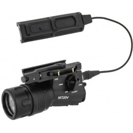 UK Arms M720V Quick Detach Weapon Light with Remote Switch - BLACK