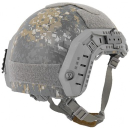 Lancer Tactical Airsoft Adjustable Maritime Helmet (MEDIUM) - WOODLAND CAMO
