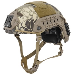 Lancer Tactical Airsoft Adjustable Maritime Helmet (MEDIUM) - HIGHLANDER