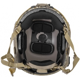 Lancer Tactical Airsoft Adjustable Maritime Helmet (MEDIUM) - HIGHLANDER