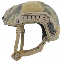 Lancer Tactical Airsoft Adjustable Maritime Helmet (MEDIUM) - FOREST GREEN