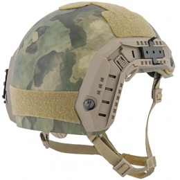 Lancer Tactical Airsoft Adjustable Maritime Helmet (MEDIUM) - FOREST GREEN