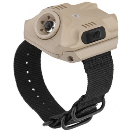 UK Arms 240 Lumen USB Rechargeable LED Wrist Light - TAN