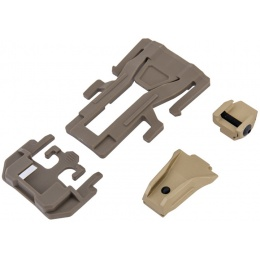 UK Arms Precision Weapon Link for Webbing - DARK EARTH