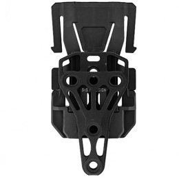 UK Arms Trifecta Holster Connection for MOLLE Webbing - BLACK