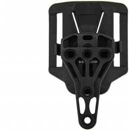 UK Arms Trifecta Holster Connection for Belt - BLACK