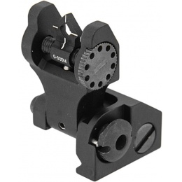 UK Arms Battlesight Rear DI-OPTIC Aperture DOA - BLACK