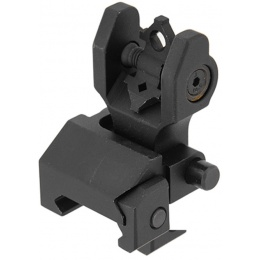 UK Arms Airsoft Battlesight Folding Rear Sight - BLACK
