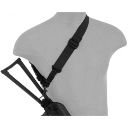 UK Arms Airsoft Tactical Single Point Bungee Sling - BLACK