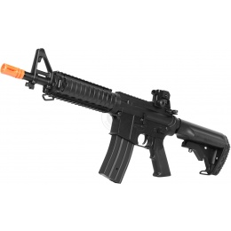 JG M4 Full Metal CQB-R M4 Series Airsoft AEG - BLACK