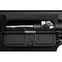 JG M4 Full Metal CQB-R M4 Series Airsoft AEG - BLACK