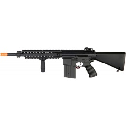 Golden Eagle JG Commando SR-25 Airsoft AEG with Quad RIS