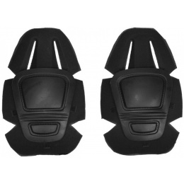 Airsoft Gen 3 Tactical Foam-Padded Knee Pads - BLACK