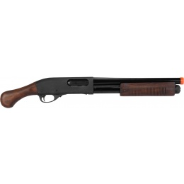 PPS M870 Stubby Shell Ejecting Pump Action Shotgun - WOOD