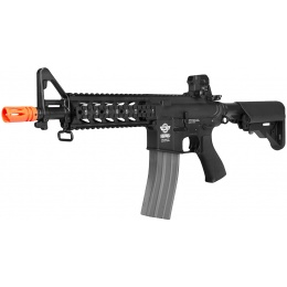 G&G Airsoft M4 AEG Combat Machine Raider CQB RIS - BLACK