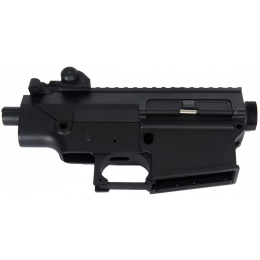 JG Airsoft SR-25 Full Metal Body Component w/ Optics Rail - BLACK