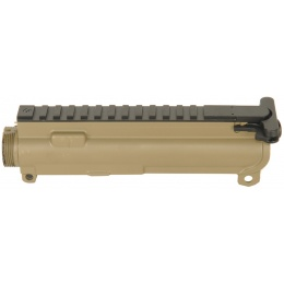 JG Airsoft M4 ABS Plastic Upper Receiver w/ Optics Rail - TAN