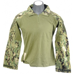 Lancer Tactical Emerson Gen 3 Combat Shirt - JUNGLE DIGITAL - X-SMALL
