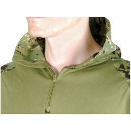 Lancer Tactical Emerson Gen 3 Combat Shirt - JUNGLE DIGITAL - X-SMALL