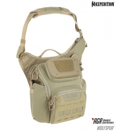 Maxpedition Wolfspur AGR Tactical Crossbody Shoulder Bag - TAN