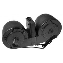 ICS Airsoft M4/M16 3000Rd Electric Winding C-MAG Drum Magazine