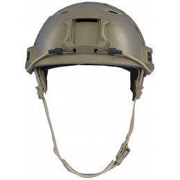 Firepower Airsoft Base Jump Style Helmet w/ Accessory RIS - TAN